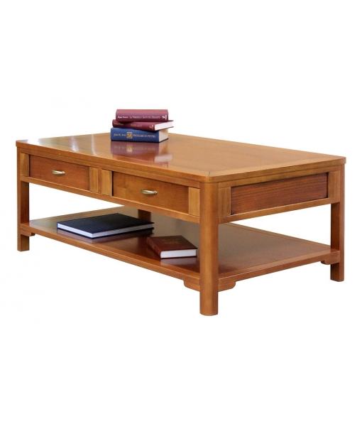 living room coffee table, wooden coffee table,