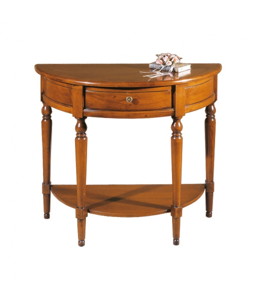 Half moon console table. Product code: P847