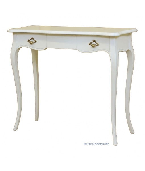 classic console table in solid wood, classic console table, wooden furniture, hallway furniture, entryway furniture, Item n° PS-06-AV