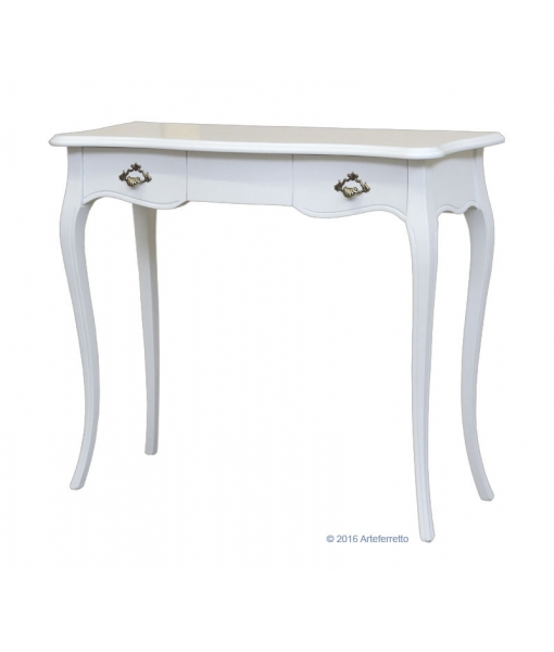 classic console table in solid wood, classic console table, wooden furniture, hallway furniture, entryway furniture