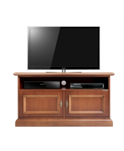 low wooden tv stand, tv cabinet in wood, living room tv stand, wooden cabinet, small cabinet. low cabinet, classic style, living room furniture