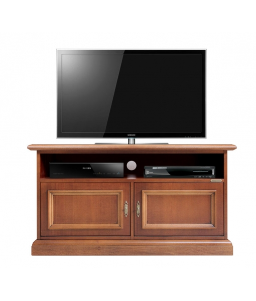 Low wooden tv stand for living room. Sku SB-106-2P