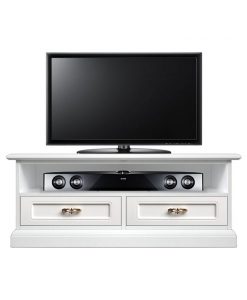 tv unit with soundbar shelf, soundbar, tv cabinet, wooden tv unit, lacquered tv unit, small tv unit, italian design, living room furniture