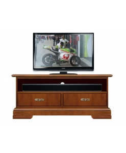 small tv unit with soundbar shelf, tv unit, classic tv cabinet, italian design, 2 drawer tv stand, soundbar tv unit, wooden tv stand, living room cabinet, living room furniture, tv furniture
