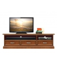 low TV cabinet, wooden unit, low cabinet for living room, living room furniture, wooden cabinet, Arteferretto Furniture