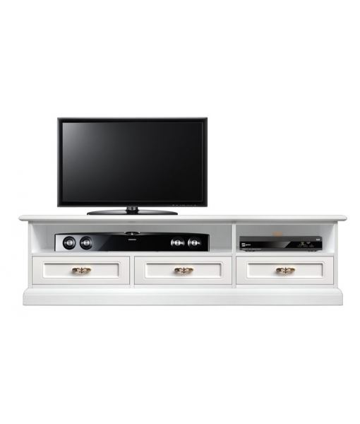 italian design tv unit, tv unit, white tv unit, low tv stand, living room furniture, italian design living room, italian design furniture, tv cabinet in wood, soundbar shelf tv cabinet