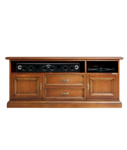 TV entertainment unit in wood for living room. sku SB-130-plus