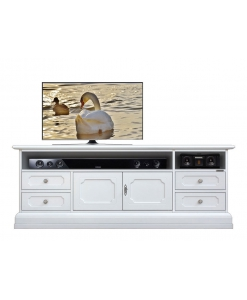lacquered tv unit