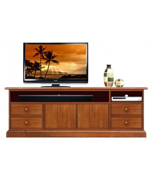 Tv stand with soundbar shelf. Sku SB-160-2