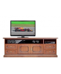 elegant style tv cabinet, wooden tv unit, living room cabinet, Arteferretto furniture, Arteferretto tv cabinet
