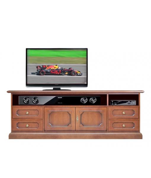 Elegant style tv cabinet in wood for living room. Sku sb-160-4