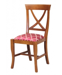 everyday padded chair, classic chair, dining chair, padded chair, solid wood chair, upholstered chair,