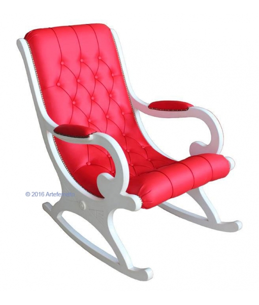 lacquered rocking armchair, rocking armchair, wooden rocking armchair, furniture for living room, armchair for living room, rocking armchair for living room, lacquered furniture