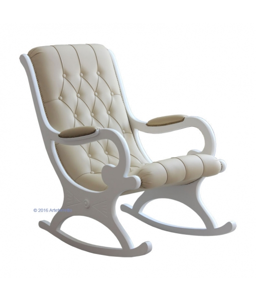 Lacquered rocking armchair. Product code:  VIS-01_21