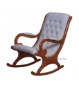 rocking armchair with eco-friendly leather, cherry wood rocking armchair, rocking armchair, wooden rocking armchair, rocking armchair for living room, armchair, rocking armchair with eco leather, furniture for living room