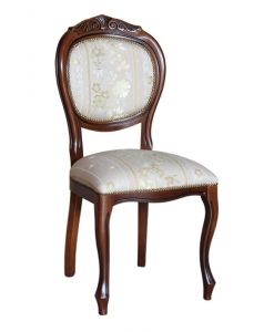 classic chair, chair with carving, living room furniture, chair for dining room