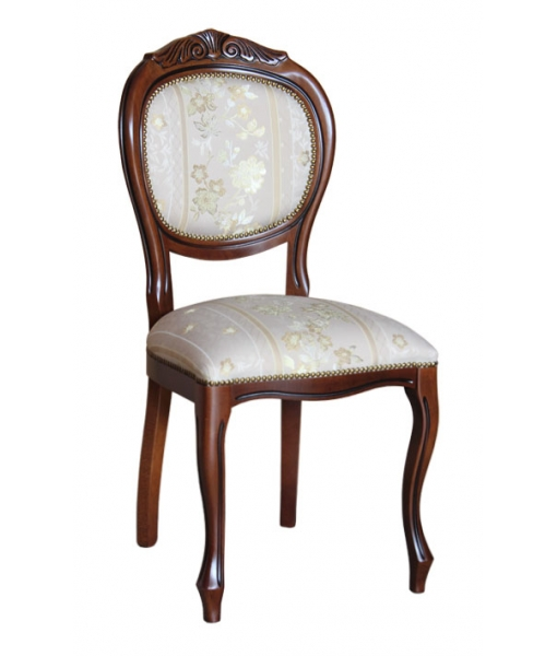 Classic chair with carving. Product code: VIS-12
