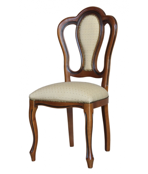 Classic Chair with padded backrest. Product code: VIS-164