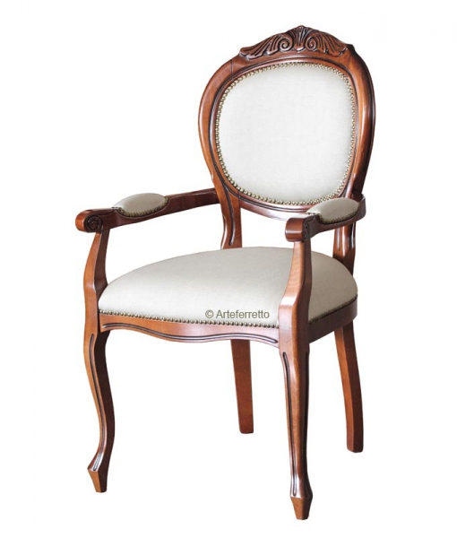 head chair, head chair in wood, solid beech wood, Item n° Vis-124