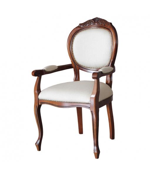 head chair, head chair in wood, solid beech wood, Item n° Vis-124