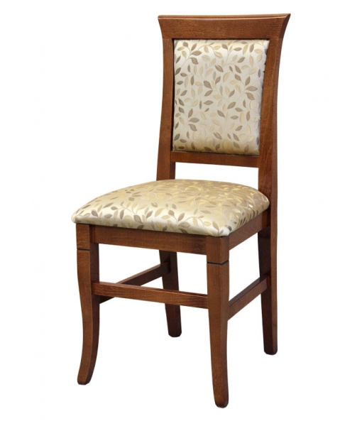 Padded chair. Product code: VIS-319. Fabric code: SU-28