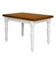Two tone table, table, table for kitchen, wooden table