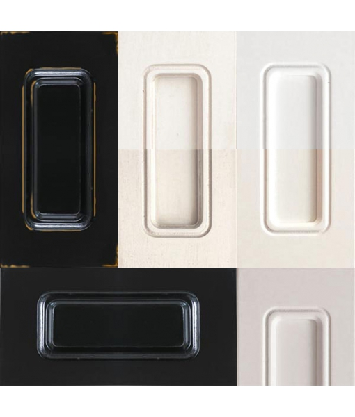 Lacquered colour samples