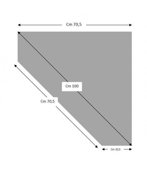 Dimensions of corner TV cabinet