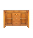 wooden sideboard in classic style, wooden sideboard, sideboard, italian design, wooden furniture, living room furniture