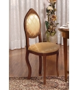 classic oval chair, oval chair, classic chair, chair in wood, wooden chair, kitchen chair, classic style, living room chair
