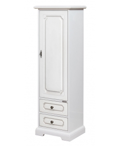 lacquered one door cabinet, one door cabinet, wooden cabinet, small cabinet, white cabinet, furniture, classic furniture,