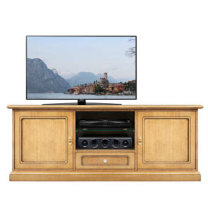 TV stand cabinet Art. 2672 in Blonde finish