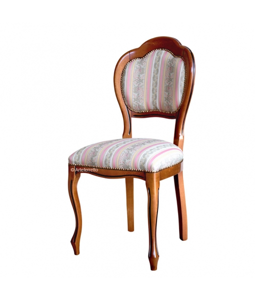 Classic dining chair in beech wood. Sku VIS-401