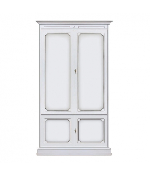 2 door wooden wardrobe. Sku NT-2P