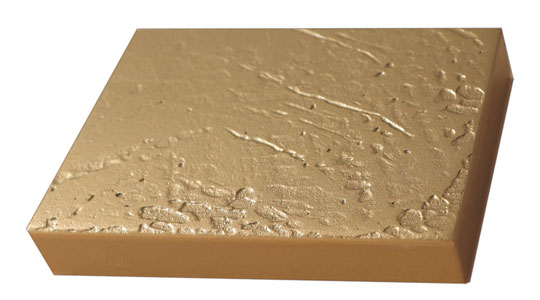 bronzed lacquer