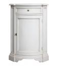 lacquered corner cabinet, corner cabinet, cabinet for room corner, wooden corner cabinet