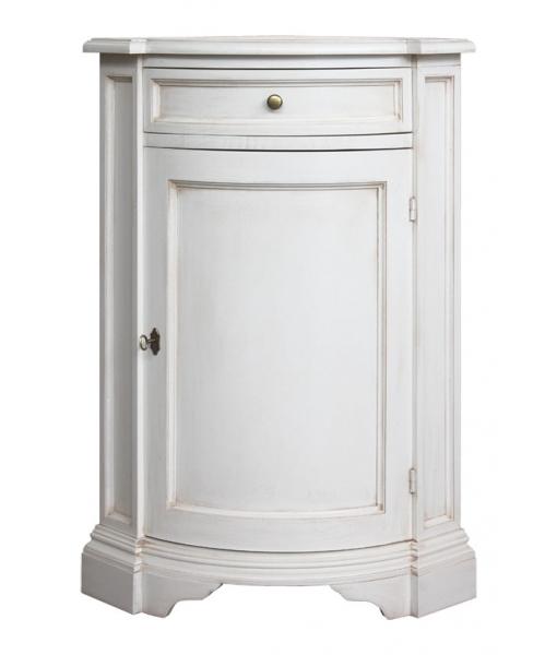 Lacquered corner cabinet. Product code: E-6312-BI