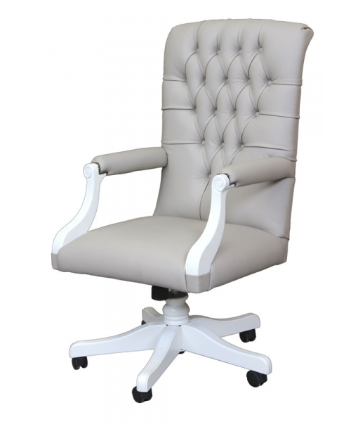 Swivel office armchair, solid structure and high quality padding. Sku AG-1