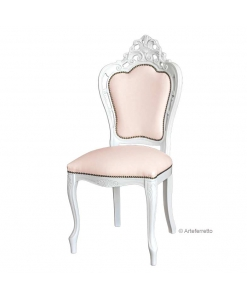 Carved chair Magic White