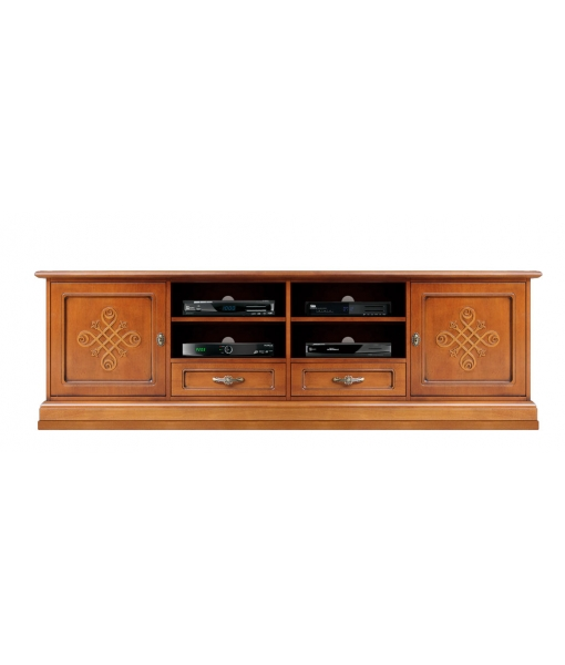 Wooden Tv stand with friezes. Product sku: 4010-YOU-max
