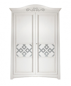 wardrobe, elegant wardrobe, white wardrobe, furniture for bedroom, wooden wardrobe
