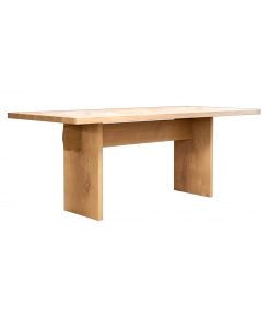 Oak wood table, table, table for kitchen, contemporary table,modern table