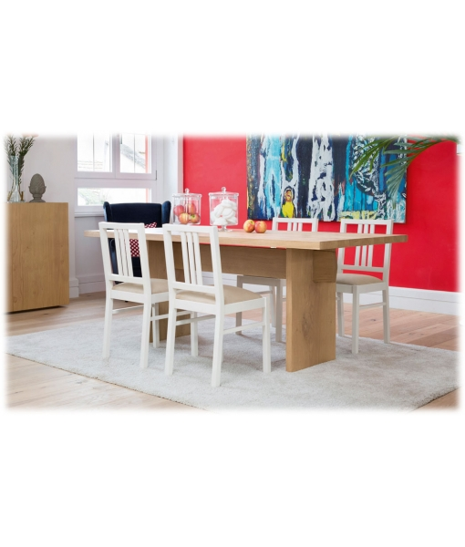 table, oak wood table, table for kitchen, wooden table
