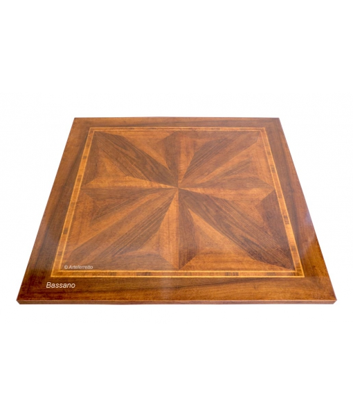 inlaid square table, squared table, dining table, wooden table, inlaid table, shaped table, italian design table, solid wood table