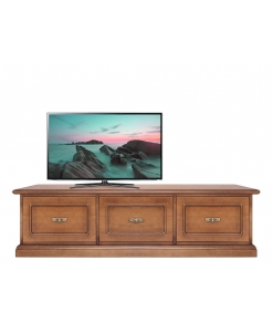 3 big drawer tv cabinet, tv stand, classic furniture, wooden tv unit, living room furniture