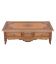 solid wood low coffee table, living room coffee table, cherry table, cherry coffee table, tassellated coffee table, wooden coffee table,