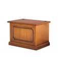 storage chest, wooden storage chest, chest for pellets, classic chest