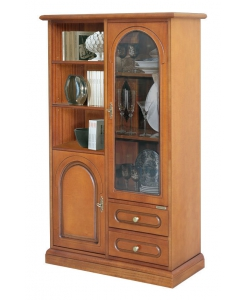 classic display cabinet, classic wooden cabinet, classic furniture, glass door