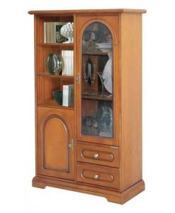 classic display cabinet, classic wooden cabinet, classic furniture, glass door