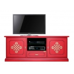 """Red tv cabinet """"Modena Gold"""" 3059-red-you"""